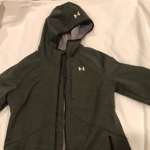 Hooded Under Armor jacket. Small